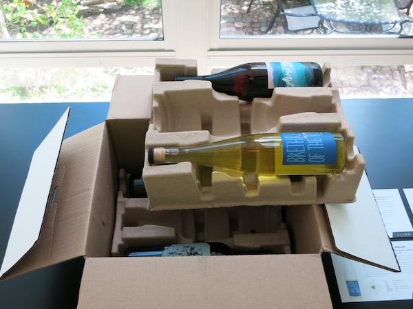 Inside A Club W Wine Delivery