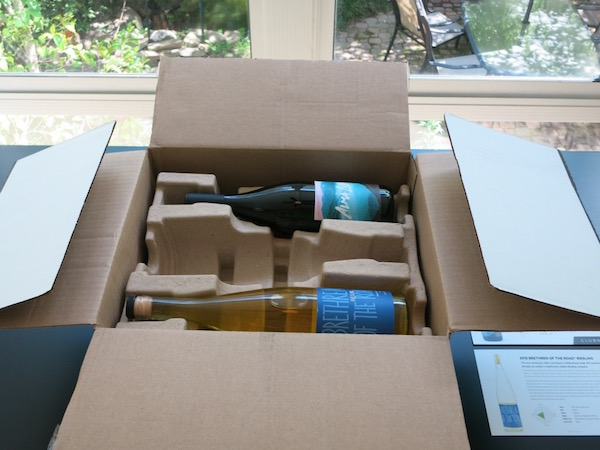 Opening A Box Of Wine From Club W