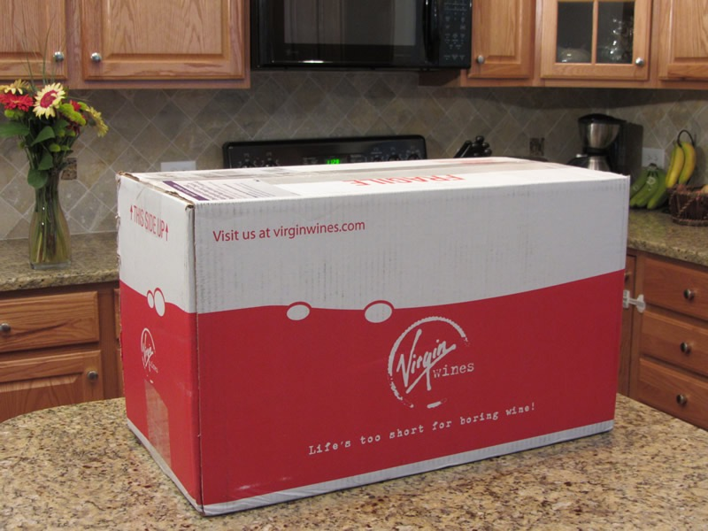Virgin Wines Delivery of Red Wine