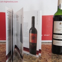 Another Great Bottle Of Wine From Virgin Wines That We Reviewed